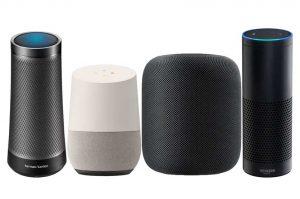 smart speaker voice command search