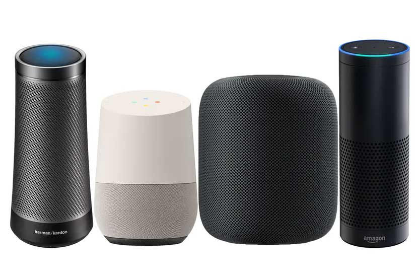 smart speaker voice command search